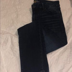 Lucky brand jeans dark wash